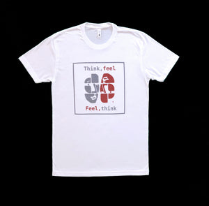 HumanArt T-shirt - Think, feel