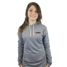 Load image into Gallery viewer, Unisex Tri-Blend Hoodie grey with TREMEC logo on front