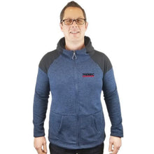 Load image into Gallery viewer, Cross Country Full Zip Hooded Jacket navy with TREMEC logo on left chest