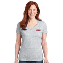 Load image into Gallery viewer, Ladies Nano Cotton Ash T-Shirt with TREMEC logo on left chest