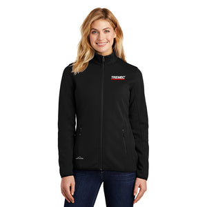 Women's Eddie Bauer Full-Zip Fleece Jacket (Black)