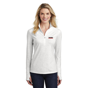 Women's Reflective Heather Pullover with ½-Zip
