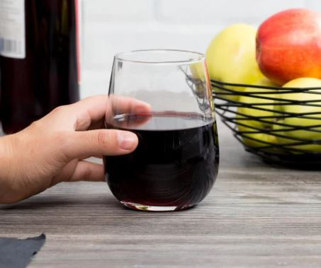 Stemless Red Wine Glass: 17 oz.
