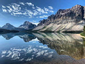 Bow Lake Reflections