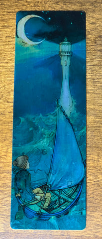 Nether Isle Metal Bookmark