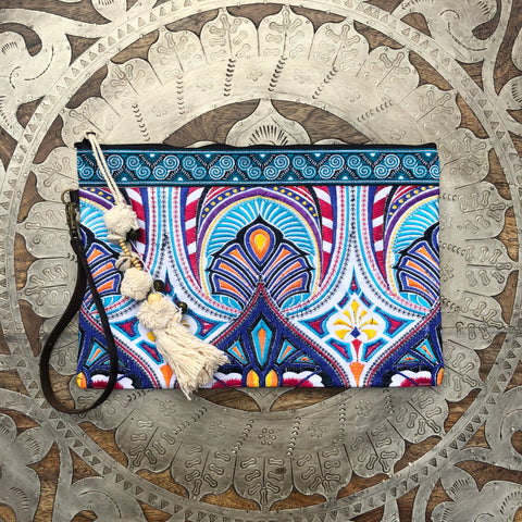 Wristlet Zippered Clutch