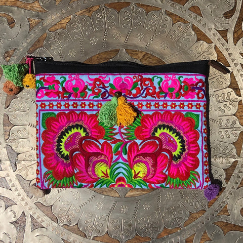 Bloom Floral Clutch