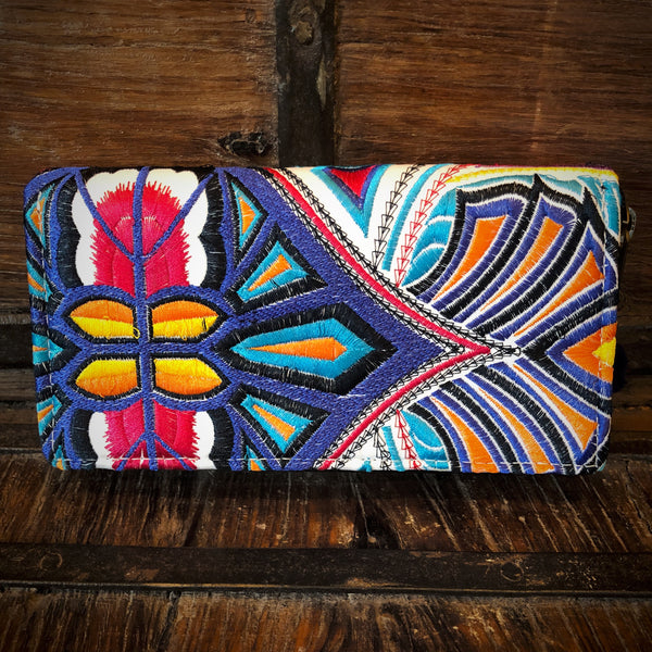 Tribal Embroidered Wallet