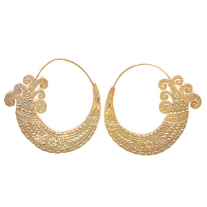 Sundar Brass Earrings