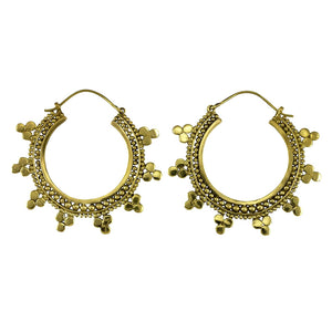 Hindi Triad Earrings