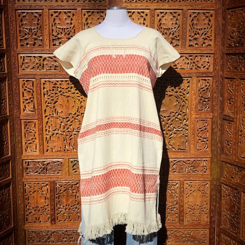 Ivory Huipil Dress
