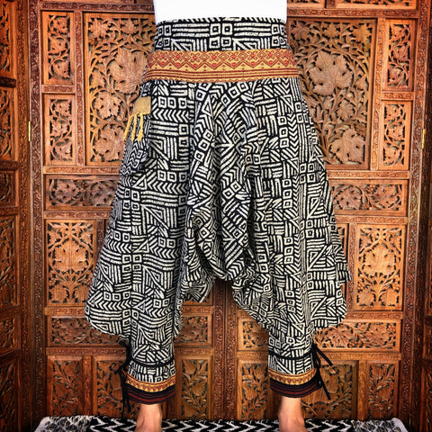 Native Hill Tribe Harem Pants