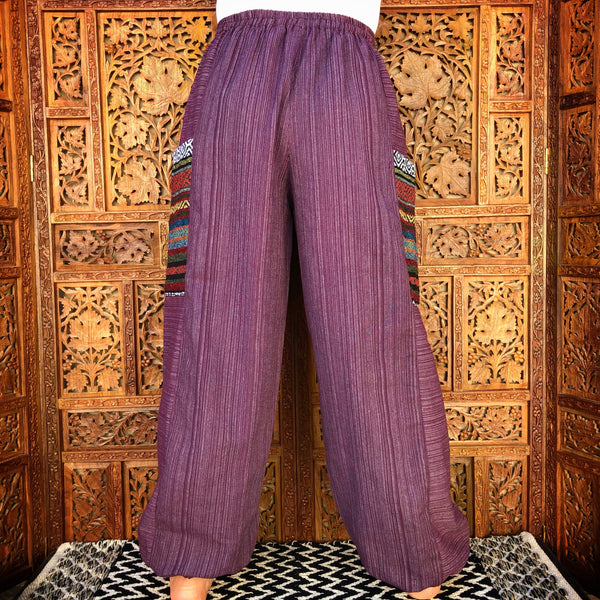 Purple Genie Pants
