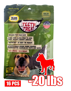 4 OZ - TEETH TREAT SMALL, 16 PCS