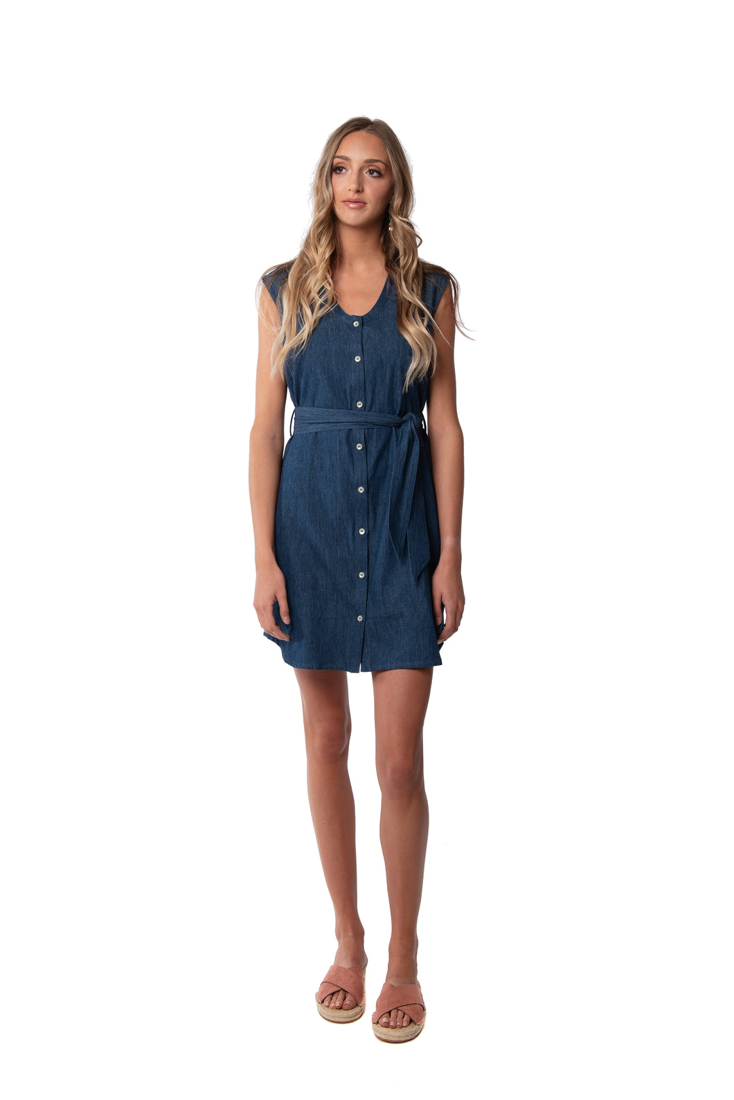 Adeline Denim Dress