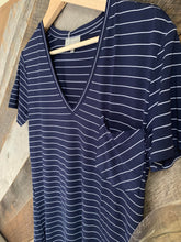 Load image into Gallery viewer, Ivy Stripe Vneck
