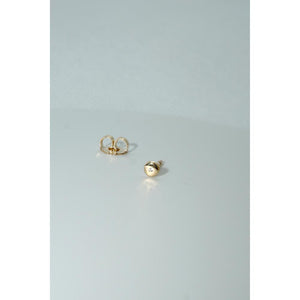 14kt Sundisk Diamond Earring (single earring)