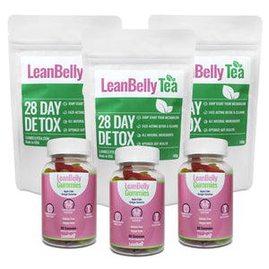LeanBelly Gummies & Tea Gift Set - Limited Edition