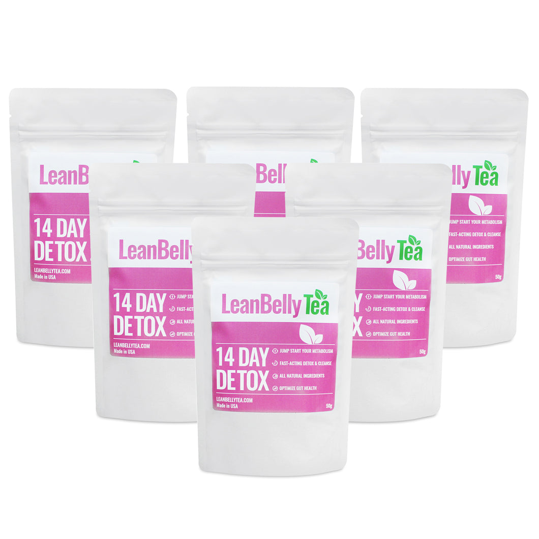 LeanBelly Tea 14 Day Detox Tea - 12 Week