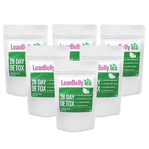 LeanBelly Tea 28 Day Detox Tea - 24 Week