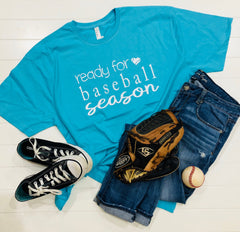 Ready for Baseball Season, Baseball Tee, Baseball Mom, Super Cute Baseball Tee, T-Shirt, Unisex