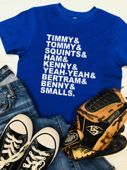 Sandlot Shirt, Sandlot Names, Sandlot Boys Names, Baseball Movie Tee