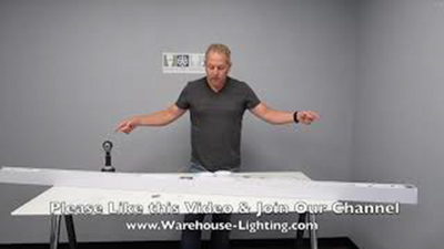 WareLight Beam LED Joining Kit For Suspended Lighting Fixtures