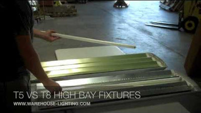 Difference Between T5 & T8 High Bay Lighting Fixtures