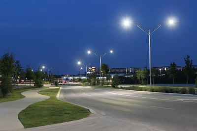 LED Lighting Distribution for Flood and Roadway Lights