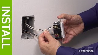 Leviton Presents: How to Install the IPHS5 Humidity Sensor & Fan Control