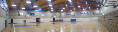 Holy Rosary Parish & School Gym Lighting 50% Savings on Energy Usage