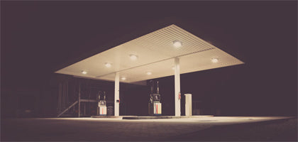 Gas Station Canopy Lighting