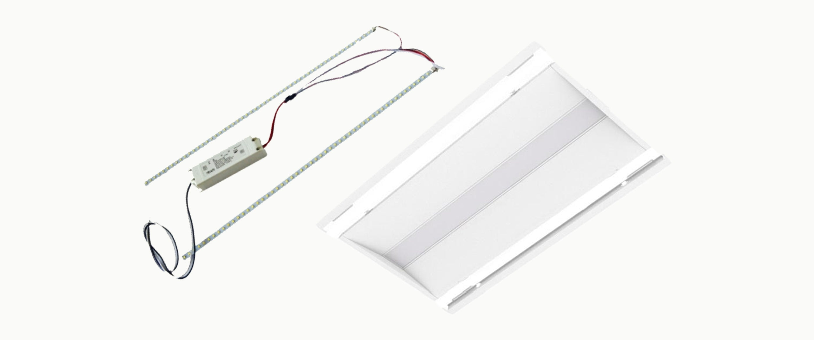 2 x 4 LED Troffer / Recessed Retrofit Lighting Kits