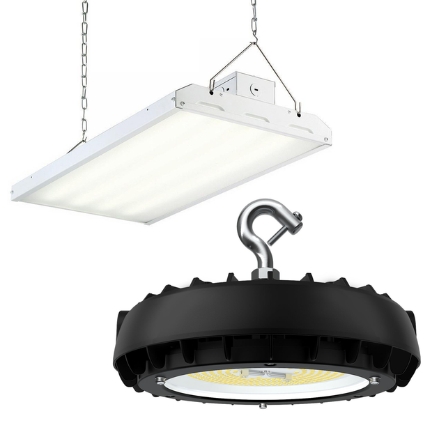 Fabulous Led High Bay Lights Warehouse Lighting Wiring Cloud Hisonuggs Outletorg