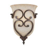 Millennium Lightings Courtney Lakes Sconce Offered in Rubbed Bronze finish, Item Number 1001-RBZ