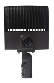 """The Quasar"" G2 LED Shoebox Floodlight, 150 watt, 19400 Lumens, 120-277V, 5000K, Bronze Finish  - Image #7"