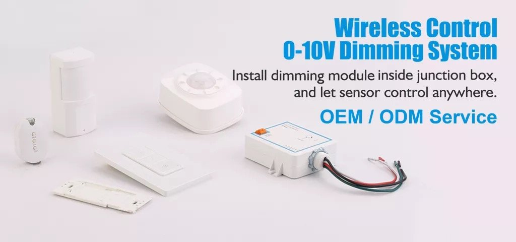 Ware Sense Power Pack with 0-10V Dimming Module and 10A Relay, 120-277V