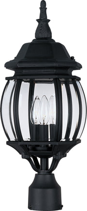 Crown Hill 3-Light Outdoor Pole/Post Lantern  - Image #1