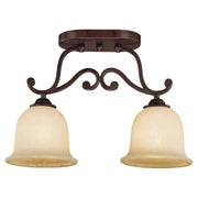 Millennium Lightings Courtney Lakes Semi-Flush Offered in Rubbed Bronze finish, Item Number 1042-RBZ  - Image #1