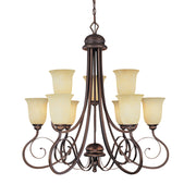 Millennium Lightings Chateau Chandelier Offered in Rubbed Bronze finish, Item Number 1059-RBZ  - Image #1