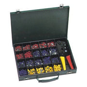 500 Piece Terminal Kit with Controlled Cycle Crimp Tool