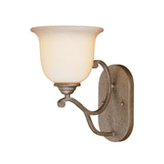 Millennium Lightings Courtney Lakes Sconce Offered in Vintage Iron finish, Item Number 1121-VI