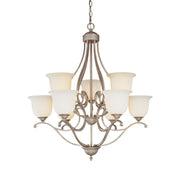 Millennium Lightings Courtney Lakes Chandelier Offered in Vintage Iron finish, Item Number 1129-VI  - Image #1