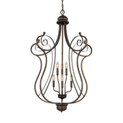 Millennium Lightings Chateau Pendant Offered in Rubbed Bronze finish, Item Number 1156-RBZ  - Image #1