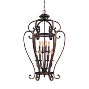 Millennium Lightings Oxford Pendant Offered in Rubbed Bronze finish, Item Number 1218-RBZ  - Image #1
