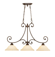 Millennium Lightings Oxford Island Offered in Rubbed Bronze finish, Item Number 1233-RBZ  - Image #1