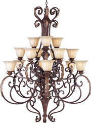 Augusta 15-Light Chandelier with Crystals  - Image #1