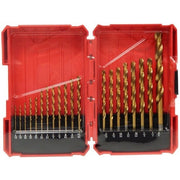20 Piece Titanium Coated Drill Bits Set  - Image #1