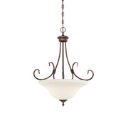 Millennium Lightings Fulton Pendant Offered in Rubbed Bronze finish, Item Number 1383-RBZ