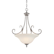 Millennium Lightings Fulton Pendant Offered in Rubbed Silver finish, Item Number 1383-RS  - Image #1